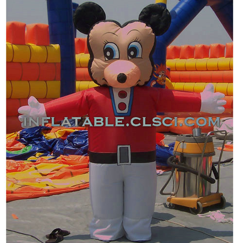 M1-290 inflatable moving cartoon