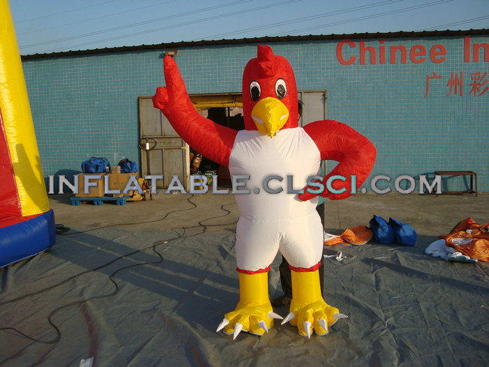 M1-292 inflatable moving cartoon