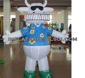 M1-293 inflatable moving cartoon