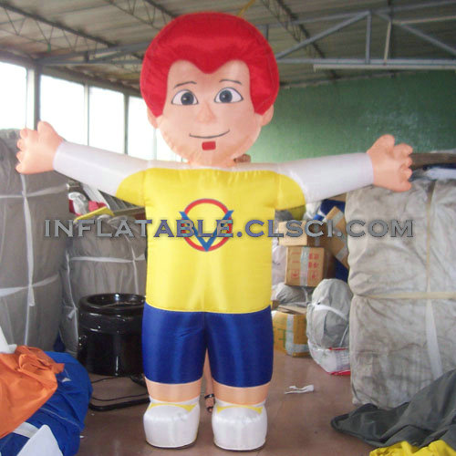 M1-296 inflatable moving cartoon