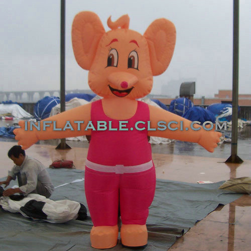 M1-297 inflatable moving cartoon