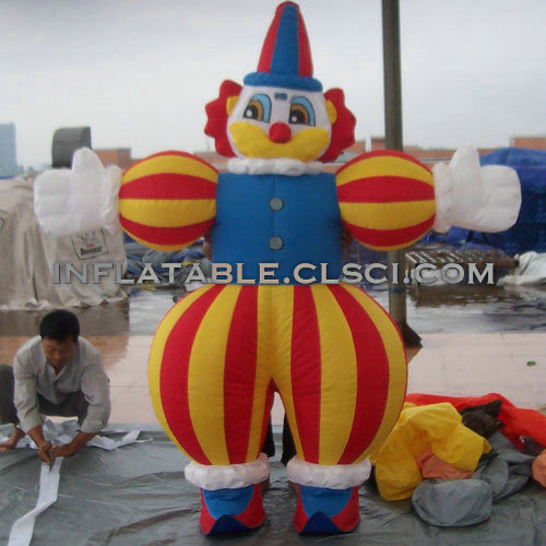 M1-299 inflatable moving cartoon