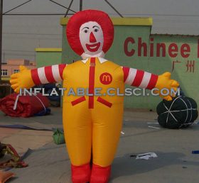 M1-302 inflatable moving cartoon