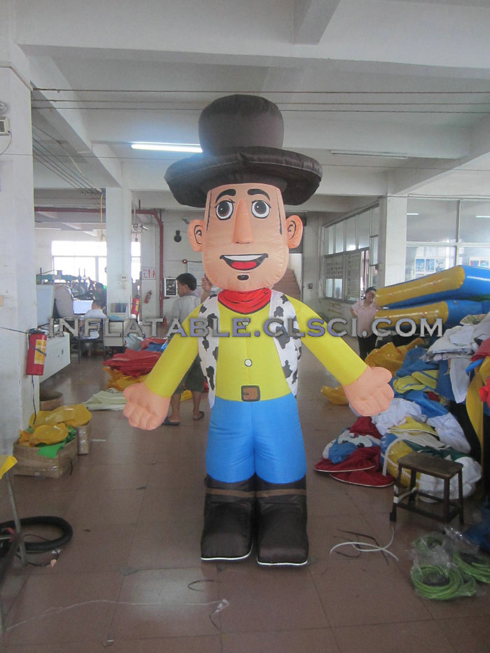 M1-316 inflatable moving cartoon