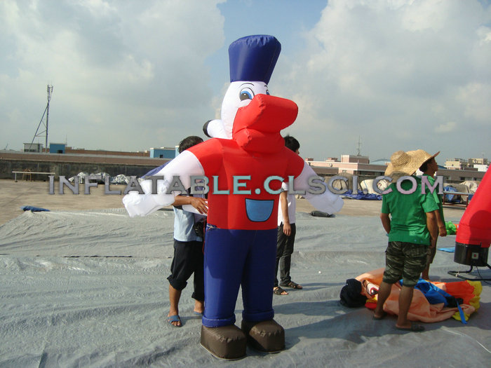 M1-3 inflatable moving cartoon