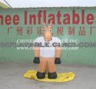 M1-7 inflatable moving cartoon