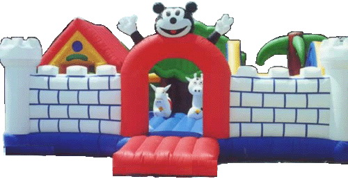 T1-6 inflatable bouncer