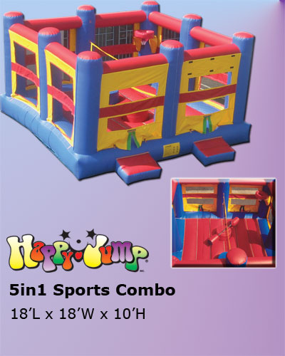 T2-1097 Inflatable Bouncer