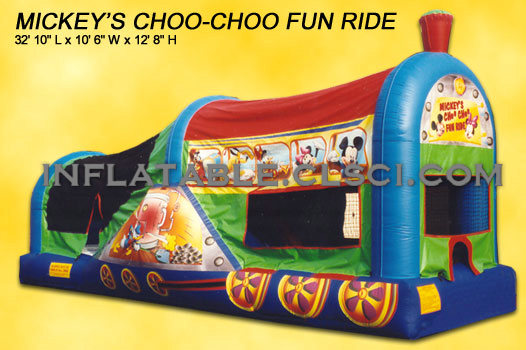T2-1504 Inflatable Bouncer
