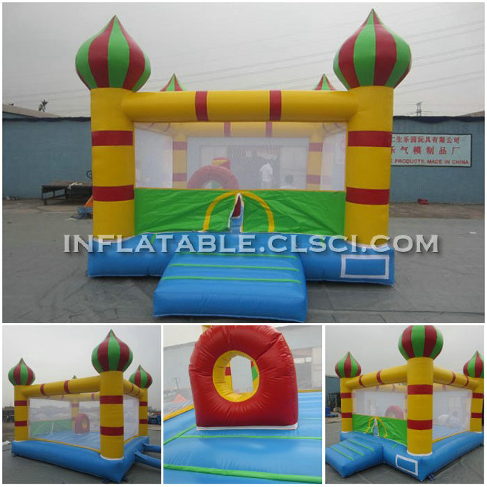 T2-165 Inflatable bouncers