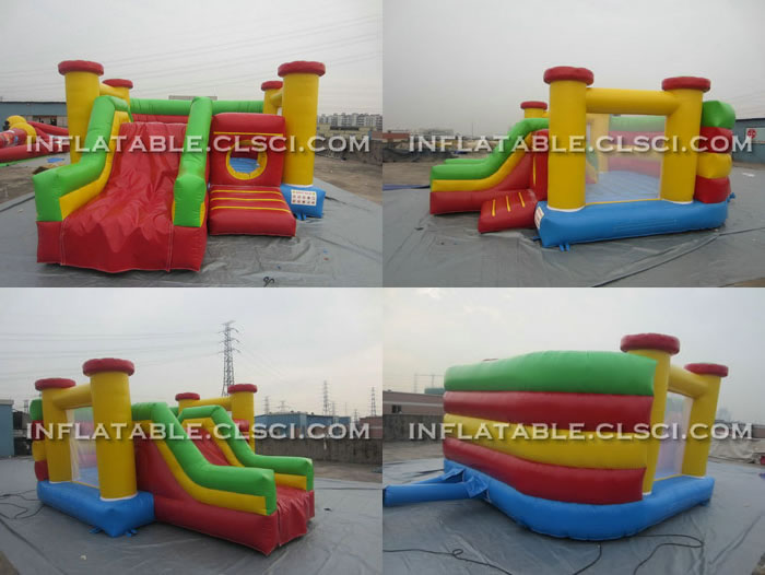 T2-168 inflatable Bouncers