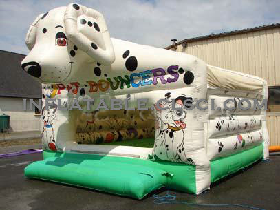 T2-1857 Inflatable Bouncers