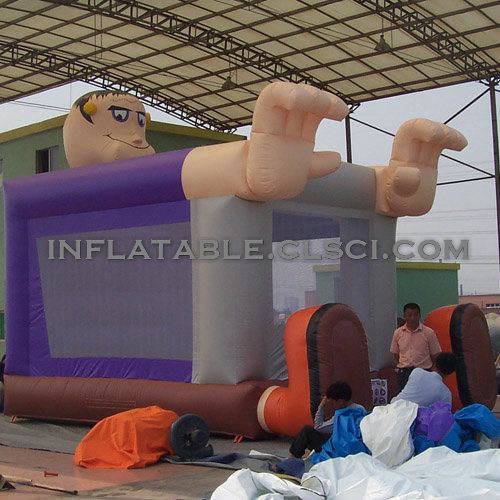 T2-2488  Inflatable Bouncers
