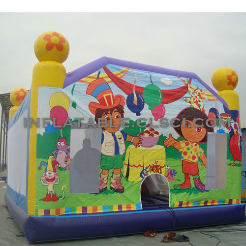 T2-2572 Inflatable Bouncers