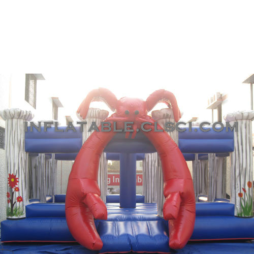 T2-2600 Inflatable Bouncers
