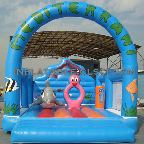 T2-2661 Inflatable Bouncers