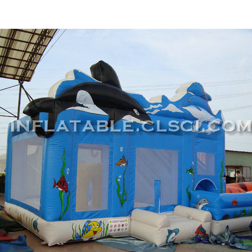 T2-2705 Inflatable Bouncers