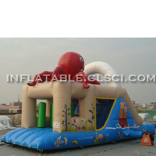 T2-2855 Inflatable Bouncers