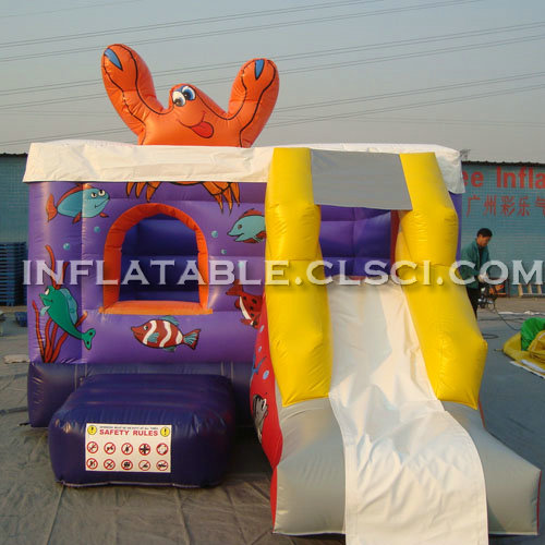 T2-2866 Inflatable Bouncers