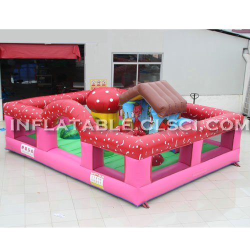 T2-2973 Inflatable Bouncers