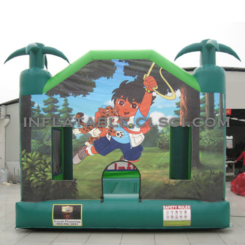 T2-2999 Inflatable Bouncers