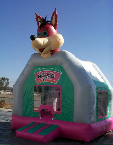 T2-350 inflatable bouncer