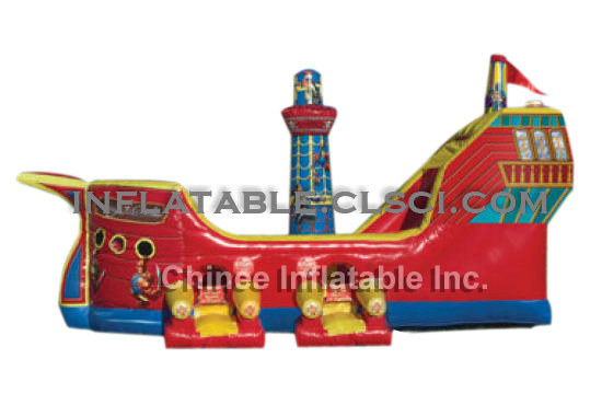 T2-358 inflatable bouncer