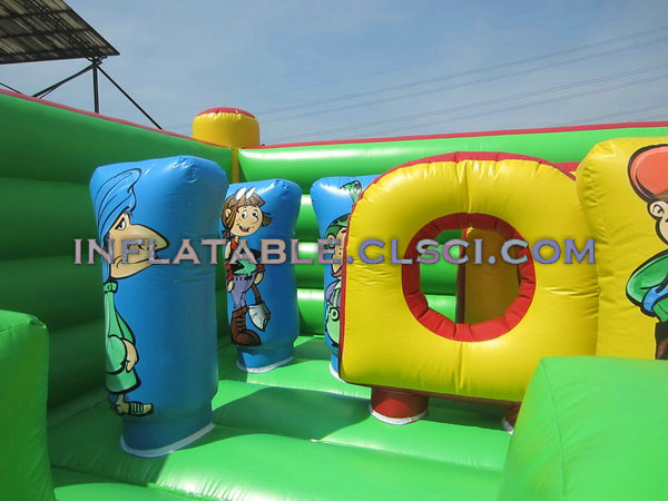 T2-366 Inflatable Bouncers
