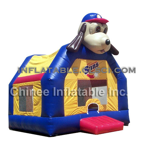 T2-384 inflatable bouncer