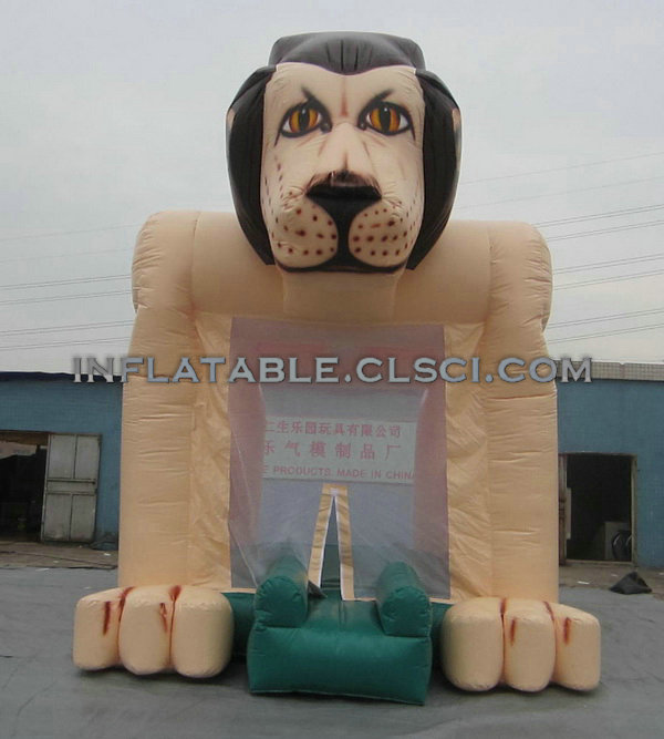 T2-387 inflatable bouncers