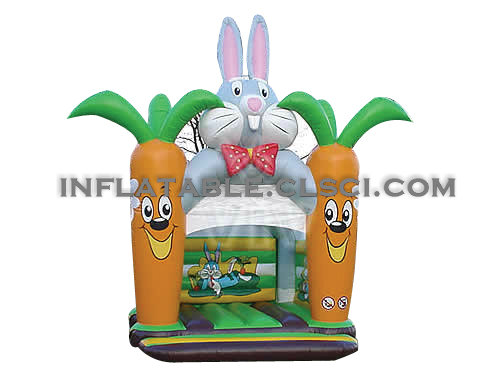 T2-400 inflatable bouncer
