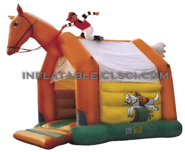 T2-447 inflatable bouncer