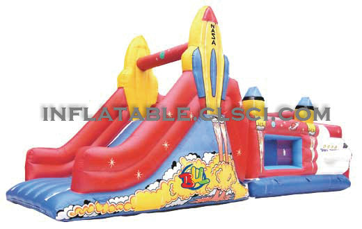 T2-458 inflatable bouncer