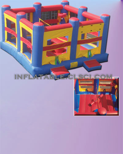 T2-484 inflatable bouncer