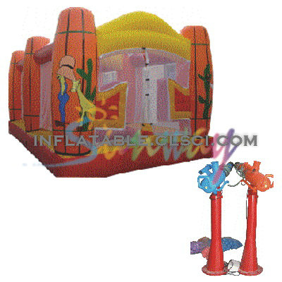 T2-613 inflatable bouncer