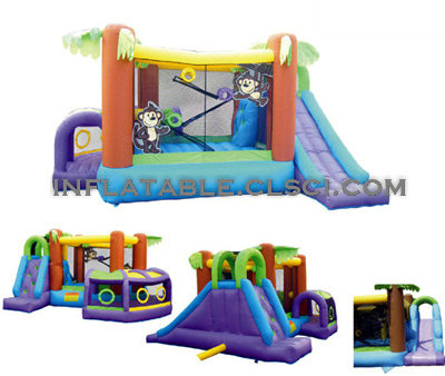 T2-668 inflatable bouncer