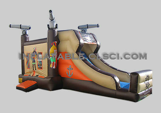 T2-678 inflatable bouncer
