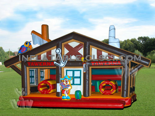 T2-723 inflatable bouncer