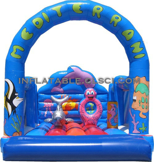 T2-732 inflatable bouncer