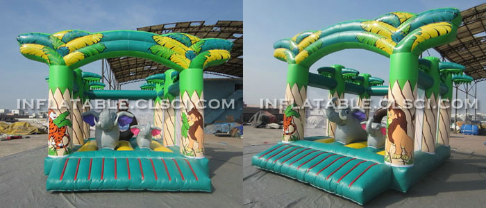 T2-736 Inflatable Bouncers