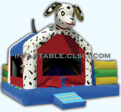 T2-744 inflatable bouncer