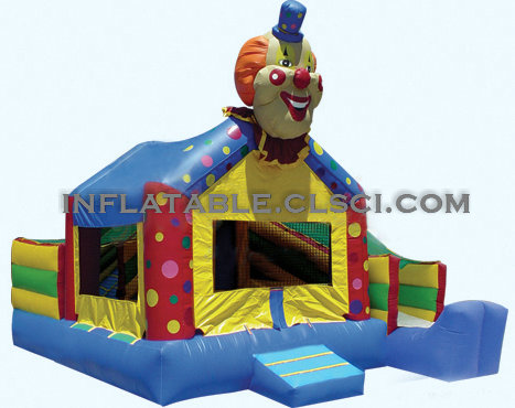 T2-758 inflatable bouncer