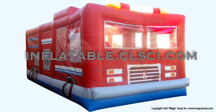 T2-817 inflatable bouncer