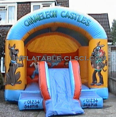 T2-841 inflatable bouncer