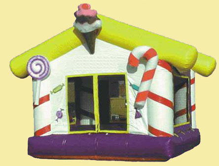 T2-962 Inflatable Bouncer