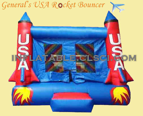 T2-967 Inflatable Bouncer