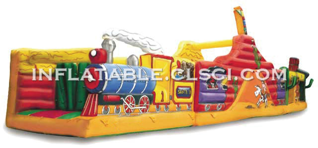 T7-169 Inflatable Obstacles Courses