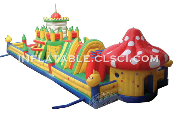 T7-180 Inflatable Obstacles Courses