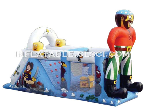 T7-182 Inflatable Obstacles Courses