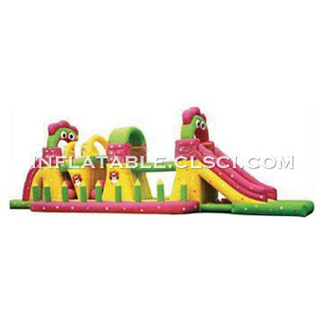 T7-183 Inflatable Obstacles Courses
